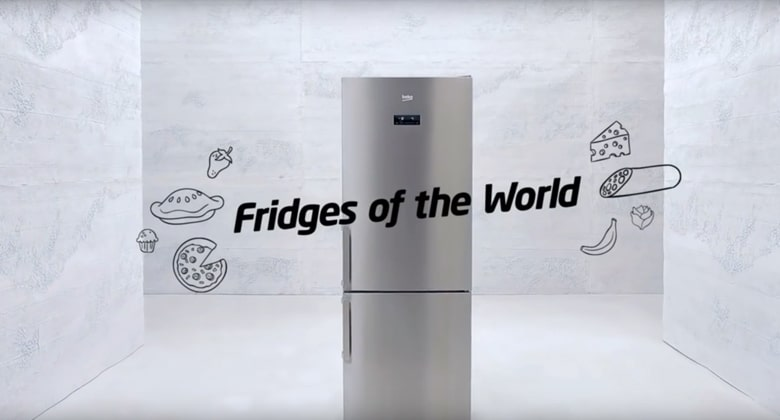 Beko – Fridges of the World – The Afternoon Tea